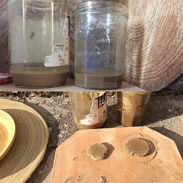 #clay #ceramics #raku #wintersun #france #maisonlambot #casaartistacourses