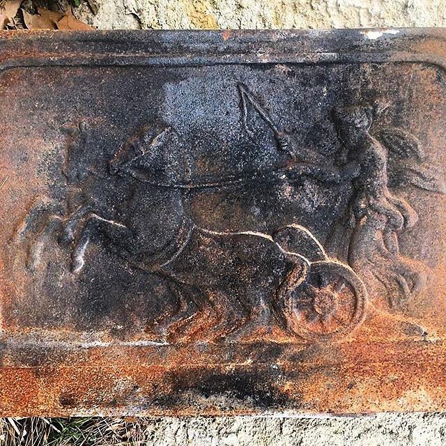 #chariot #metalart #rusty