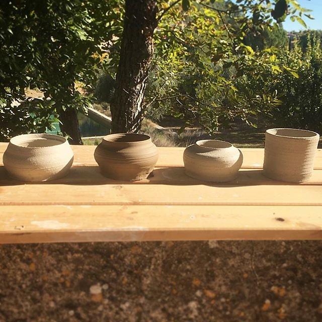 #ceramics #raku #sun #provence #autumn #teabowl #relax